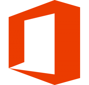 Office 365 Transparent Logo Red
