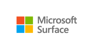 microsoft surface logo with windows icon